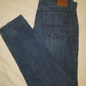 Mens size 38x34 Lucky Brand Jeans Heritage Slim